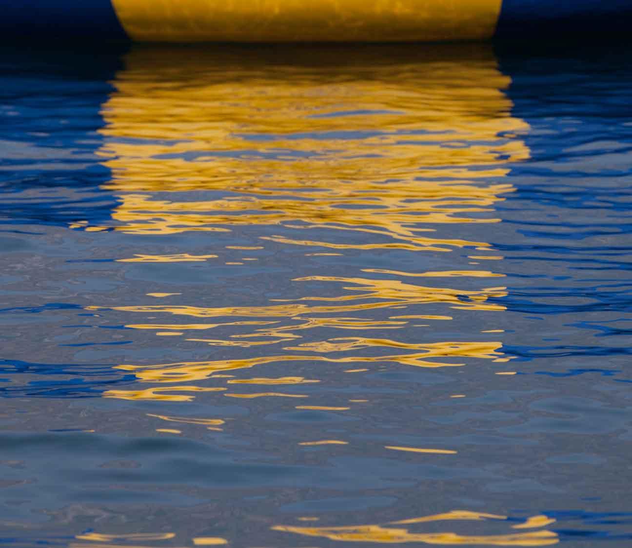 Lake Chelan reflection